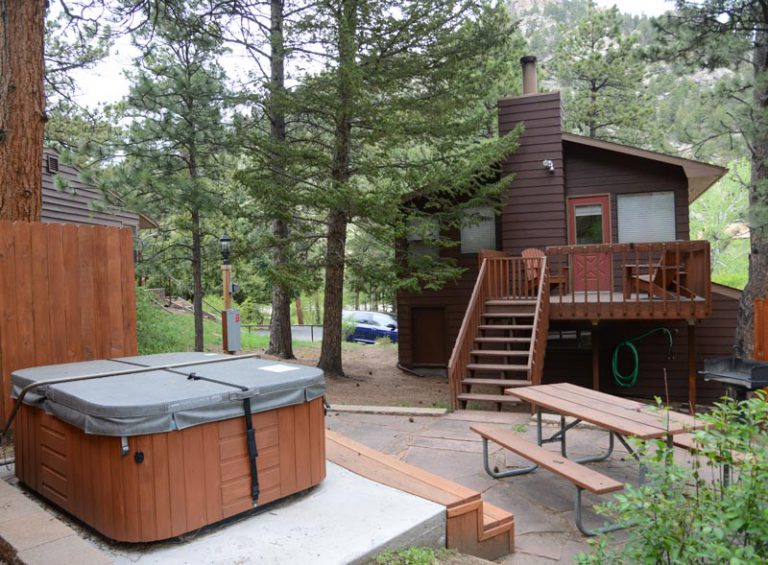 Estes Park Cabins Lodging Castle Mountain Lodge