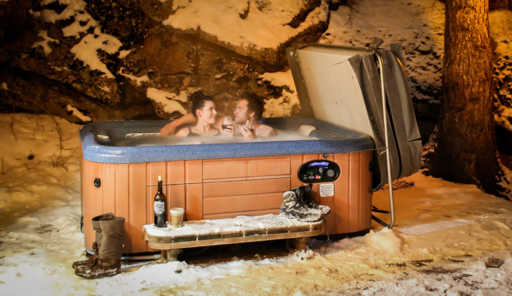 Estes Park Hot Tub Cabin